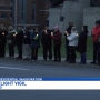Vigil held in Bronson Park on Inauguration Day