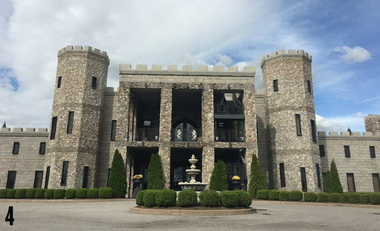 "STORY: ""There's An Epic Medieval-Style Castle 1.5 Hours From Cincy"" / ADDITIONAL NOTE: The Castle Post is a luxury hotel and event venue located in Versailles, Ky. / IMAGE courtesy of the hotel / Published: 12.25.16"