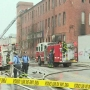 Firefighter injured in 3-alarm SW Baltimore fire