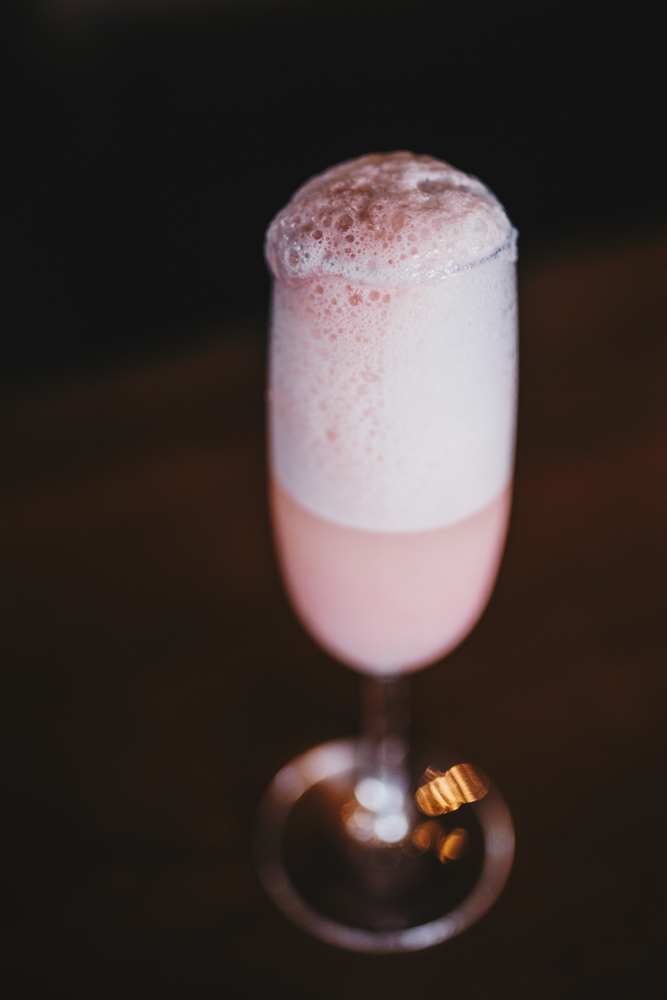 Strawberries and Cream Bellini / Image: Catherine Viox // Published: 5.4.18