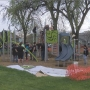 Volunteers build new playground at Cherry Park in Yakima