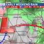 Rain moves back into eastern Iowa to start the weekend