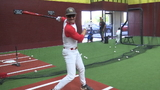 Youtube sensation Domingo Ayala helps open new batting cage