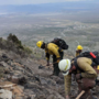 Both Mt. Charleston fires fully contained, but lightning means fire risk is still high