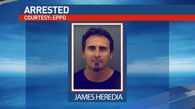 James Heredia faces a charge of engaging in organized criminal activity aggravated robbery.