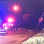 Crash in South Nashville knocks down power lines