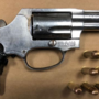 Man arrested for firearm charges after pursuit
