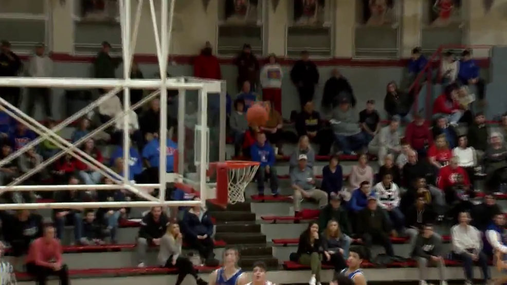 2.20.20 Highlights - Wheeling Park vs St. Clairsville - boys basketball