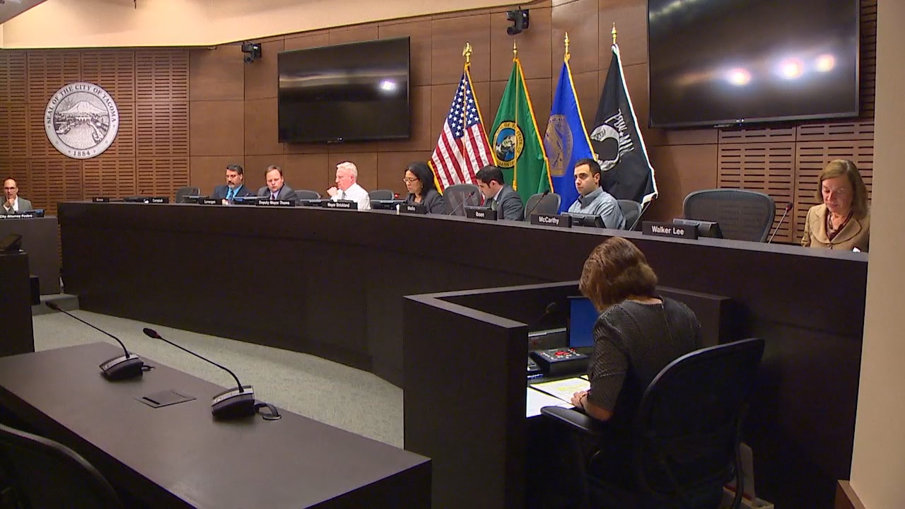 Tacoma city leaders are closing-in on a vote to cap growth in the Tideflats, but the restrictions environmentalists are fighting for has businesses concerned. (Photo: KOMO News)