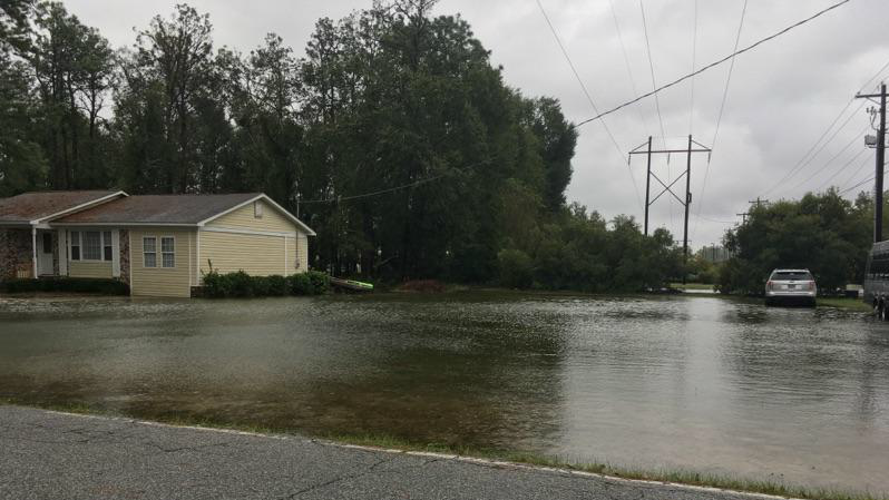 Flooding in Colleton County (Provided)