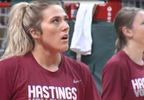 Hastings College volleyball - Drueppel and Placke.JPG