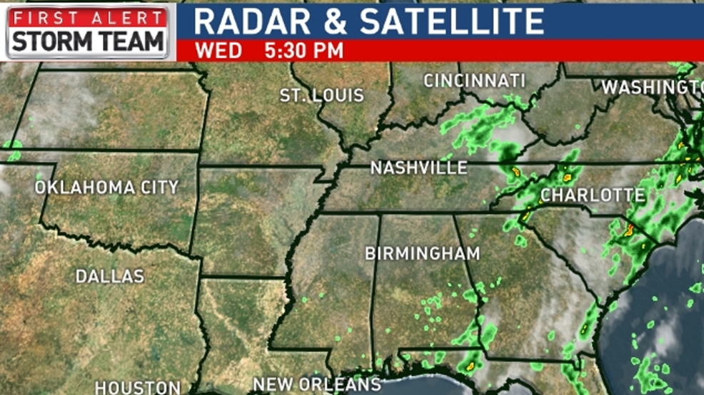 ABC 33/40 Weather | James Spann says much cooler air on tap