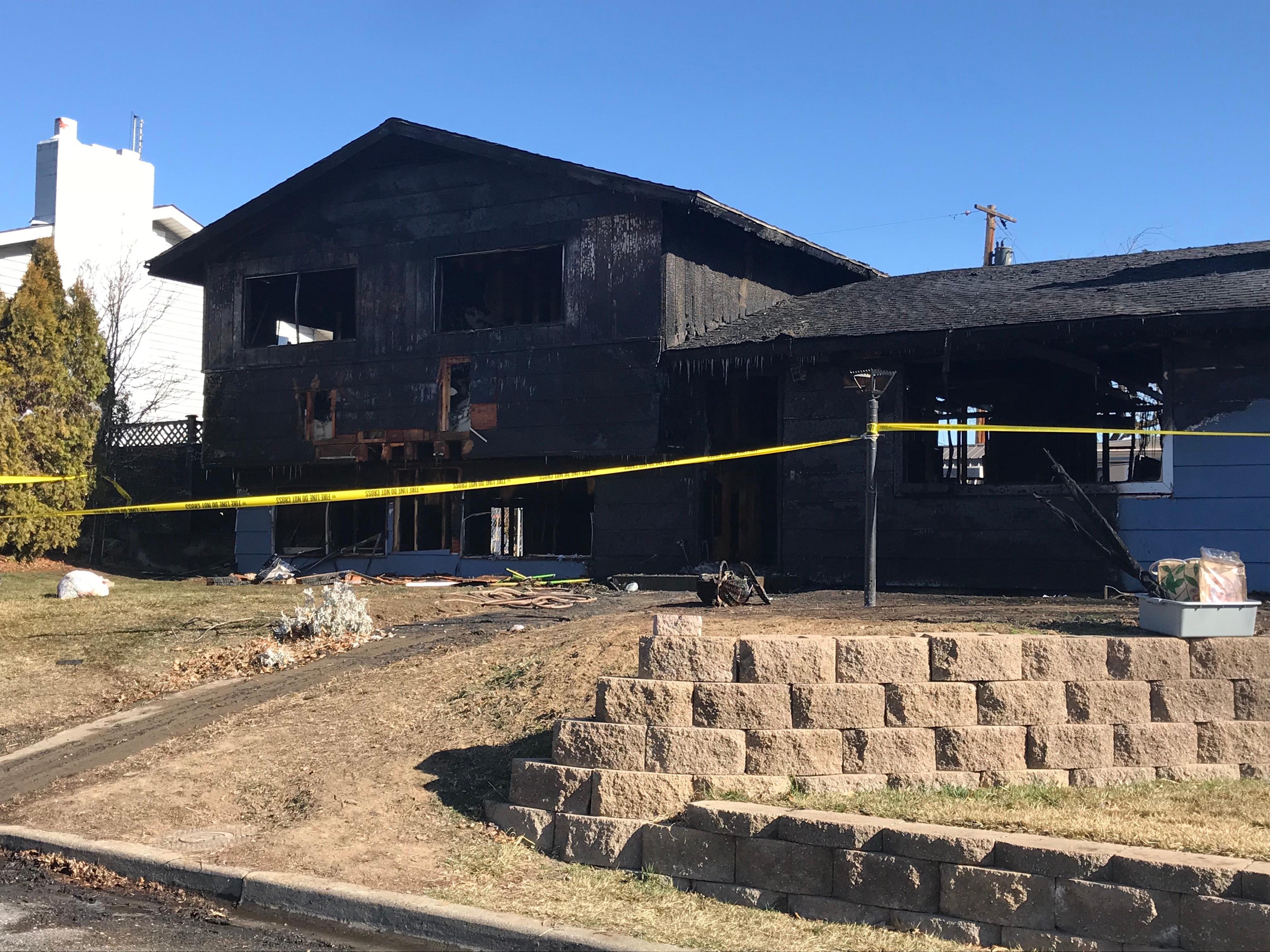 Two injured, nine without a home in Yakima house fire