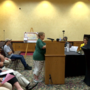 Opponents and supporters speak up at the latest Keystone XL Pipeline public meeting