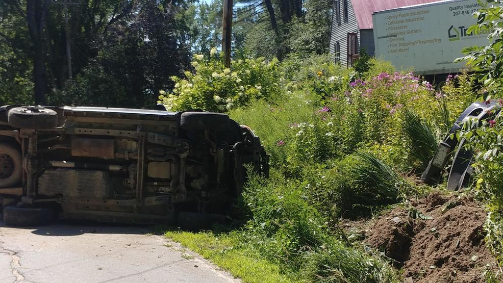 Police: Maine teen who was distracted while driving injured in crash