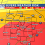 WEATHER ALERT: Dangerous storms possible Saturday afternoon