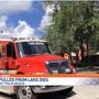 Child dies after falling in lake in suburban West Palm Beach