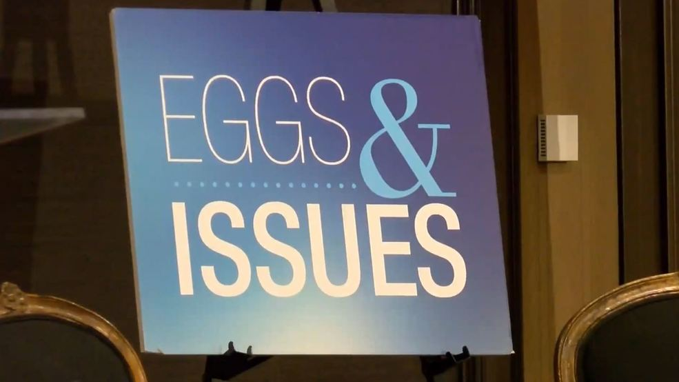 Congresswoman Dina Titus holds annual 'Eggs and Issues' breakfast