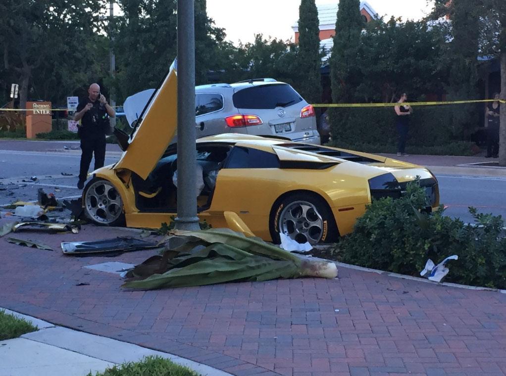 Man Killed In Lamborghini Street Racing Crash In Florida