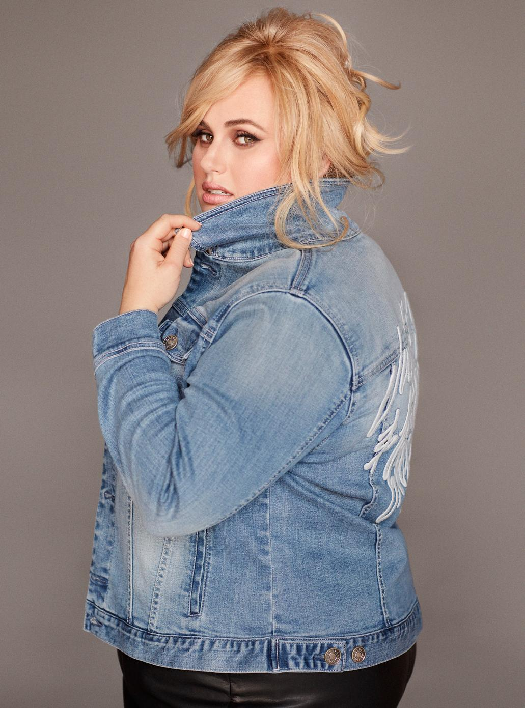 "Oh Rebel, how we love thee! The actress and comedian (known for her roles in ""Bridesmaids"" and the ""Pitch Perfect"" franchise), visited downtown Seattle Nordstrom over the weekend to launch her new collection, Rebel Wilson x Angels. The plus-size collection includes denim, graphic tees, statement tops, jacketes and dresses for women sizes 14-24. Wilson posed with fans and signed merchandise, which is now available for purchase in Nordstrom stores. (Photo: Nordstrom)"