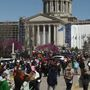Teachers converge on Capitol for third day of walkout and rally