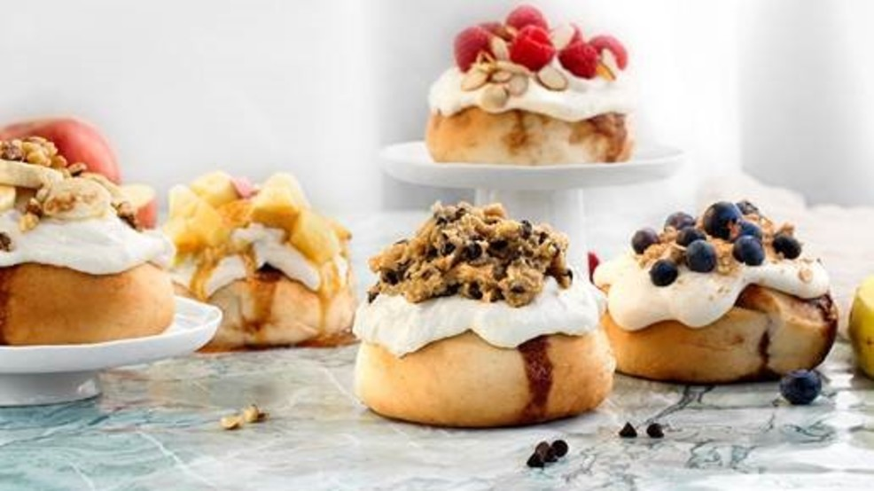Capitol Hill's Cinnaholic, a new all vegan, plant-based cinnamon roll shop that serves goodies at half the calories and double the taste. (Image: Cinnaholic)