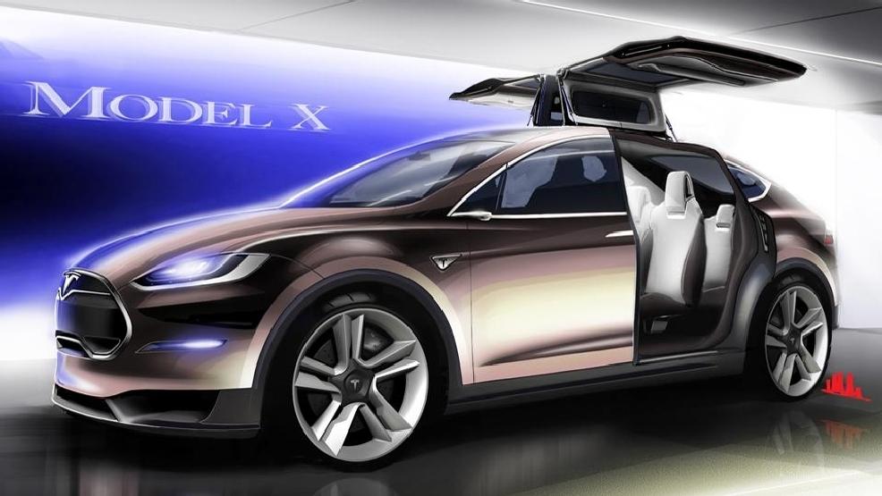 Why Tesla Model X electric SUV is late range towing u0027falcon doorsu0027 & Why Tesla Model X electric SUV is late: range towing u0027falcon doors ...