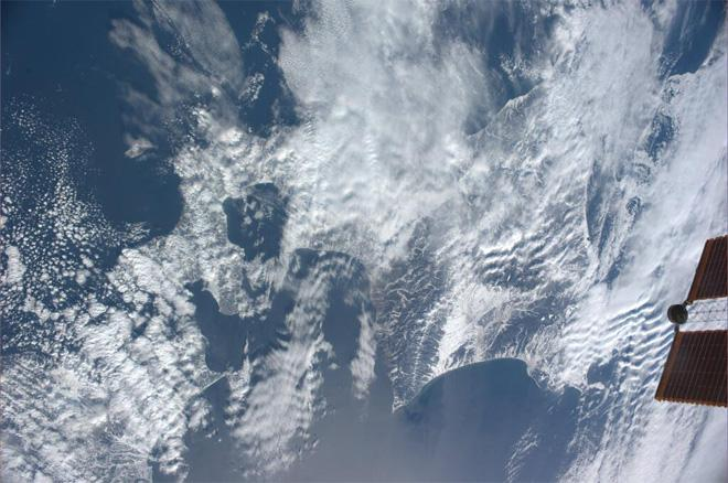 Northern Japan (Photo & Caption courtesy Koichi Wakata (@Astro_Wakata) and NASA)