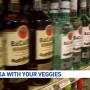 Vodka with your veggies at your local grocery store?