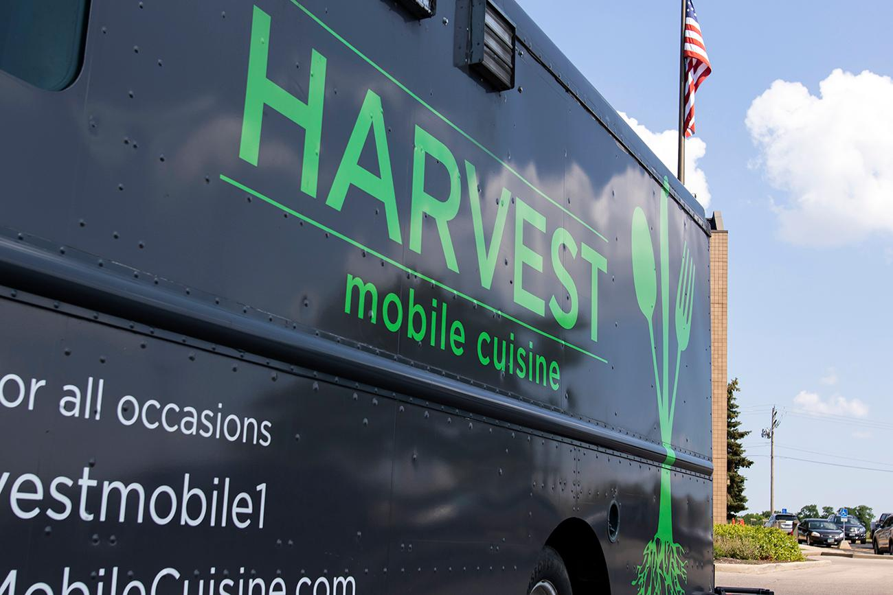 Harvest Mobile Cuisine specializes in making on-the-go comfort foods a little healthier. Patrick & Becky Sartin's food truck serves dishes made with fresh ingredients from farmers in the Miami Valley region of Ohio. The menu changes seasonally. They've been serving people in Cincinnati and Dayton since they first got rolling in 2012. You can keep up with where the food truck will be next on their events calendar at HarvestMobileCuisine.com. / Image: Allison McAdams // Published: 8.12.19