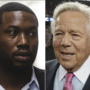 Patriots owner Robert Kraft calls for criminal justice reform after Meek Mill prison visit