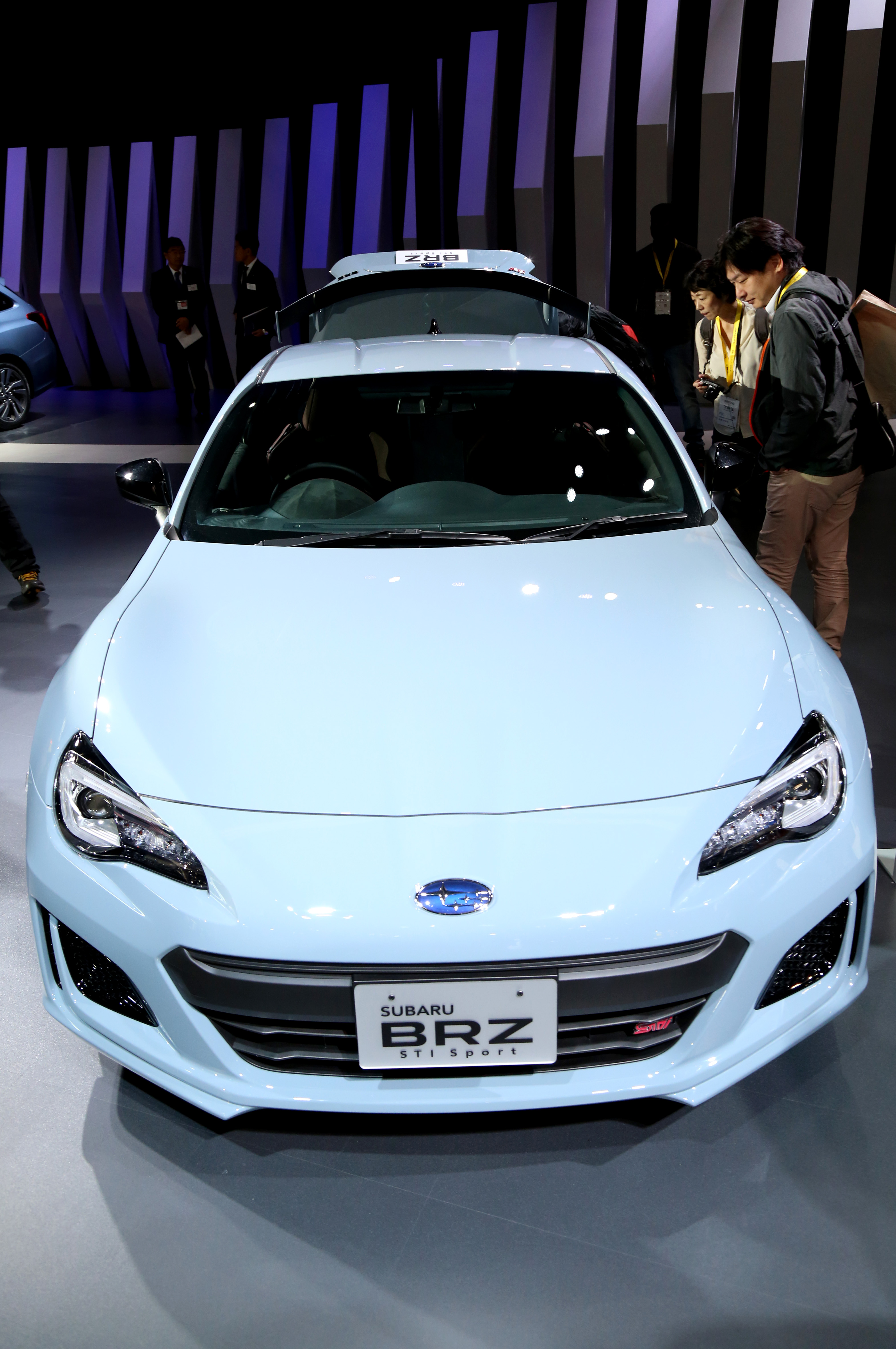 Tokyo Motor Show 2017  Featuring: Subaru BRZ STI Where: Tokyo, Japan When: 25 Oct 2017 Credit: Yukio Tomita/Future Image/WENN.com  **Not available for publication in Germany**