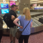 Tourists in Las Vegas react to new TSA screening measures at McCarran Airport