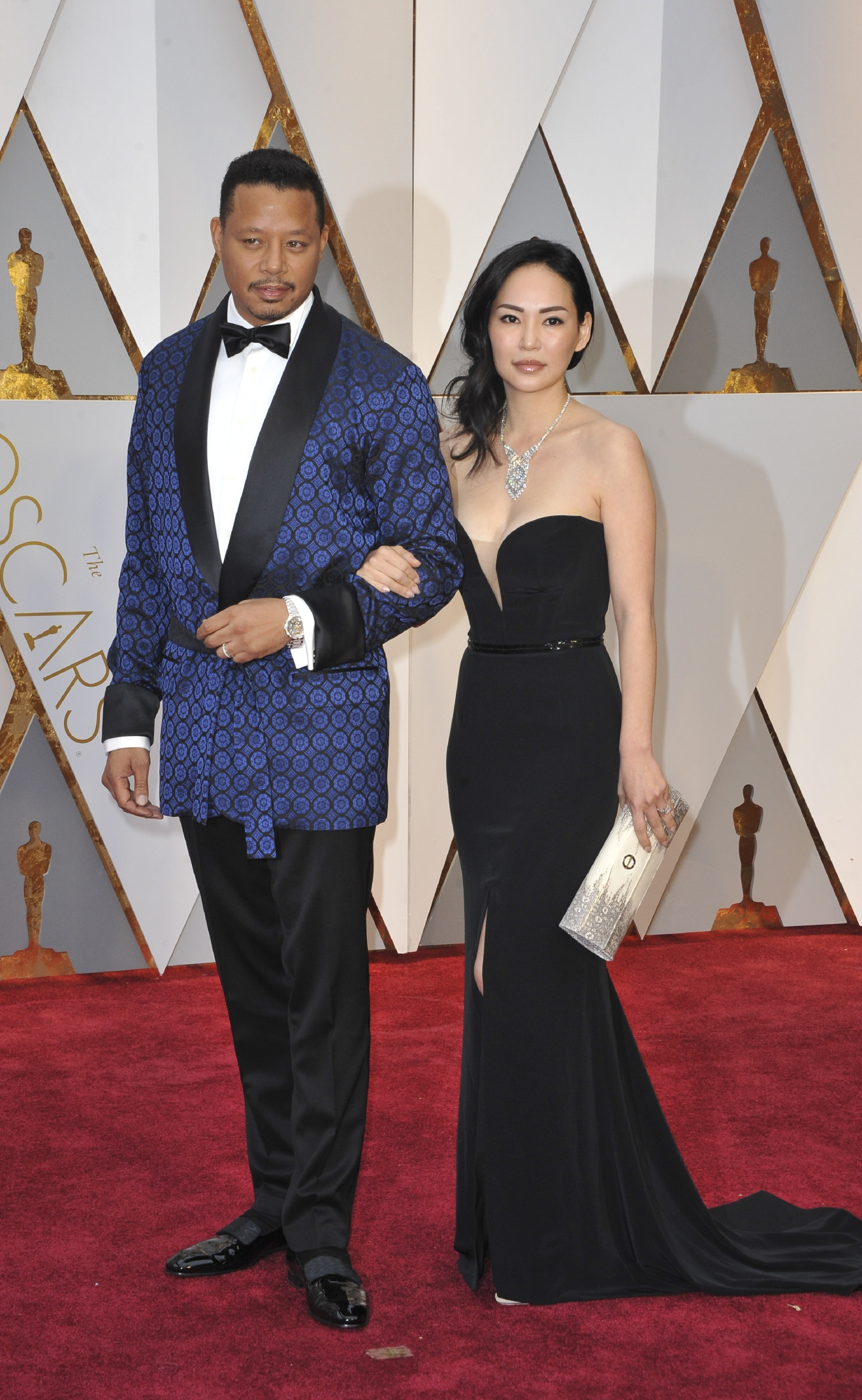 The 89th Annual Academy Awards Arrivals  Featuring: Terrence Howard, Mira Pak Where: Los Angeles, California, United States When: 27 Feb 2017 Credit: Apega/WENN.com