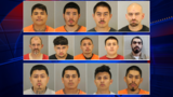 14 gang members arrested, 2 more wanted after drug and weapon operation