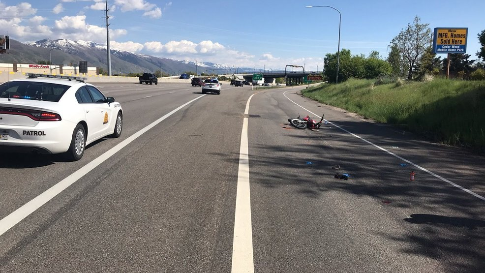 Rider in critical condition after motorcycle crash on I-15