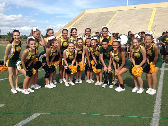 McAllen Rowe Cheerleaders