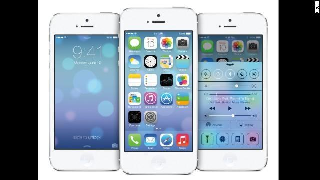 This is the new iOS which will be rolled out to all Apple users.
