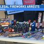 Another illegal fireworks bust in Merced