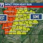 CODE RED: Heavy rain, possible severe weather moves through middle Tennessee this week