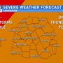 Forecast update: Sunday severe threat down, still watching for heavy rain