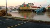 Flooding closes Newport businesses, impacts Smale Riverfront Park
