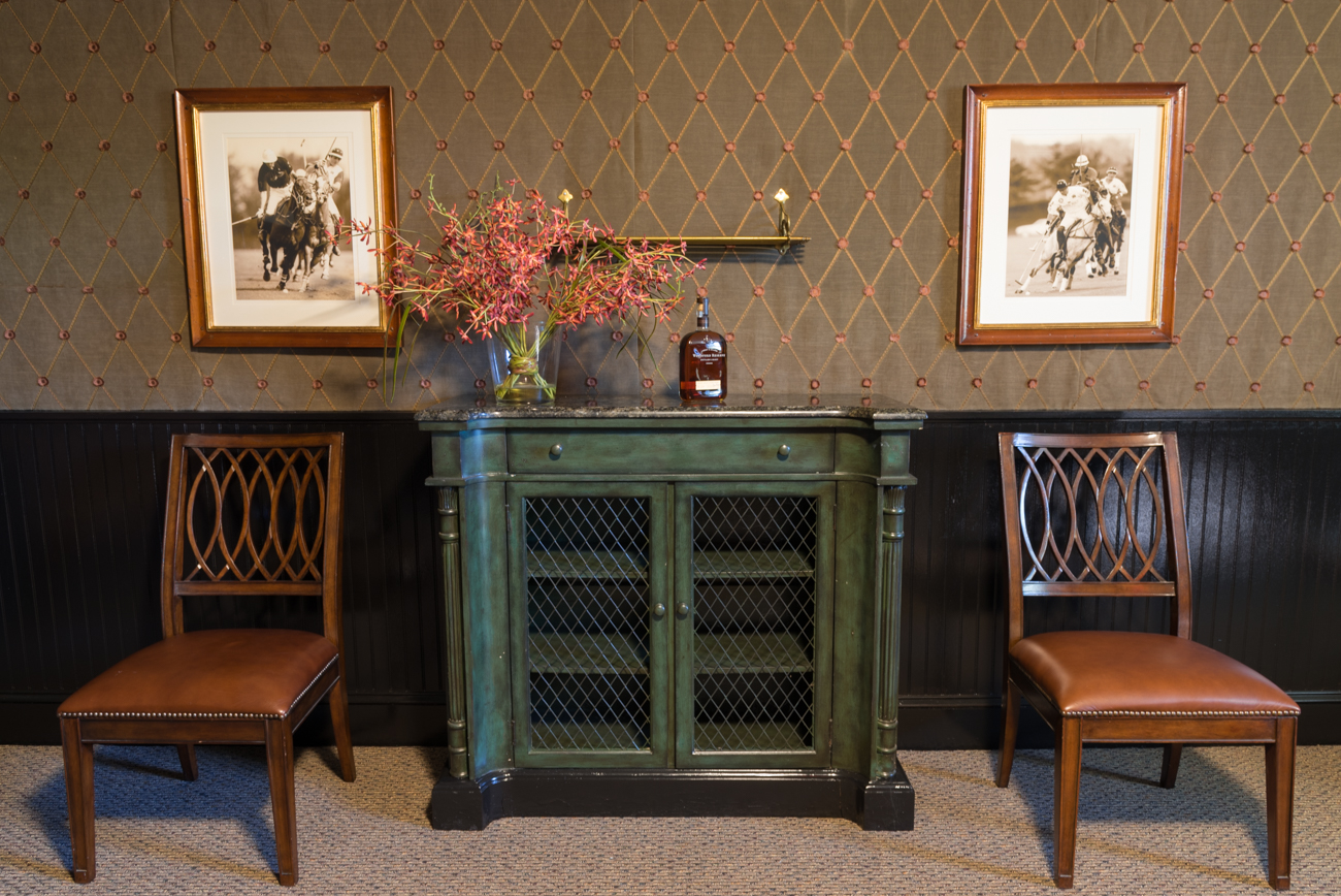 Masterfully detailed, rare furniture from around the world along with gorgeous, original paintings adorn the rooms of the recently-renovated Carnegie. / Image: Phil Armstrong, Cincinnati Refined