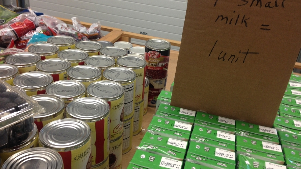 The fish food pantry accepting donations saturday at 5 for Fish food bank