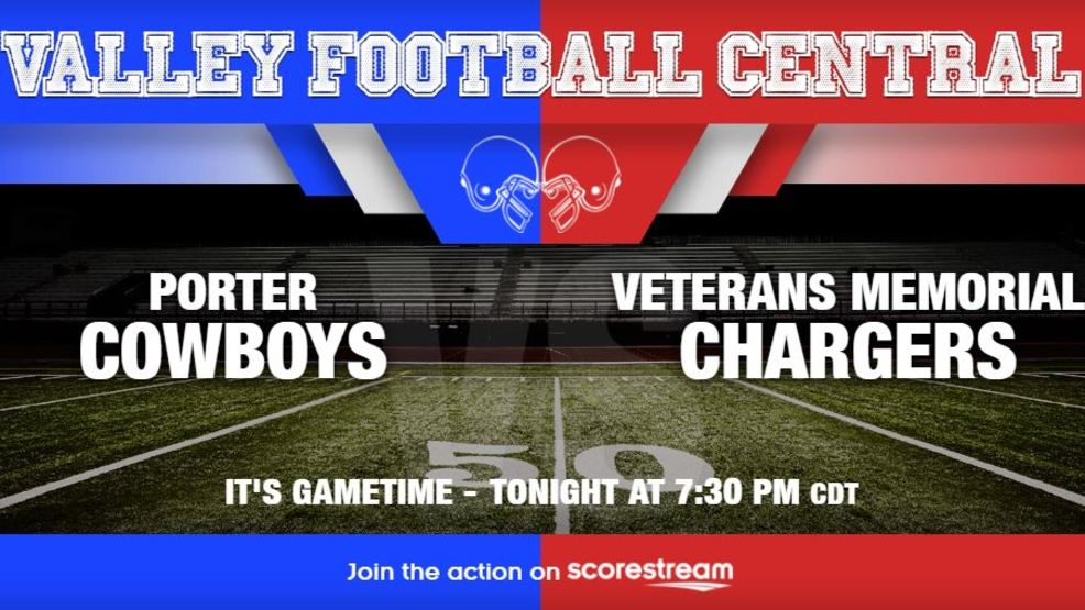 Listen Live: Brownsville Porter Cowboys at Brownsville Veterans Chargers