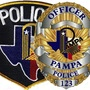 Pampa Police Officer hit by car while working traffic accident; no severe injuries