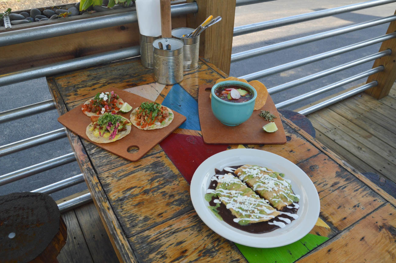 Tacos and an unlimited salsa bar are the stars of the show at Mazunte, where the veggie option makes it easy to transform almost every dish into a vegetarian or vegan-friendly meal. ADDRESS: 5207 Madison Road (45227) / Image: Liliana Dillingham // Published: 5.18.19