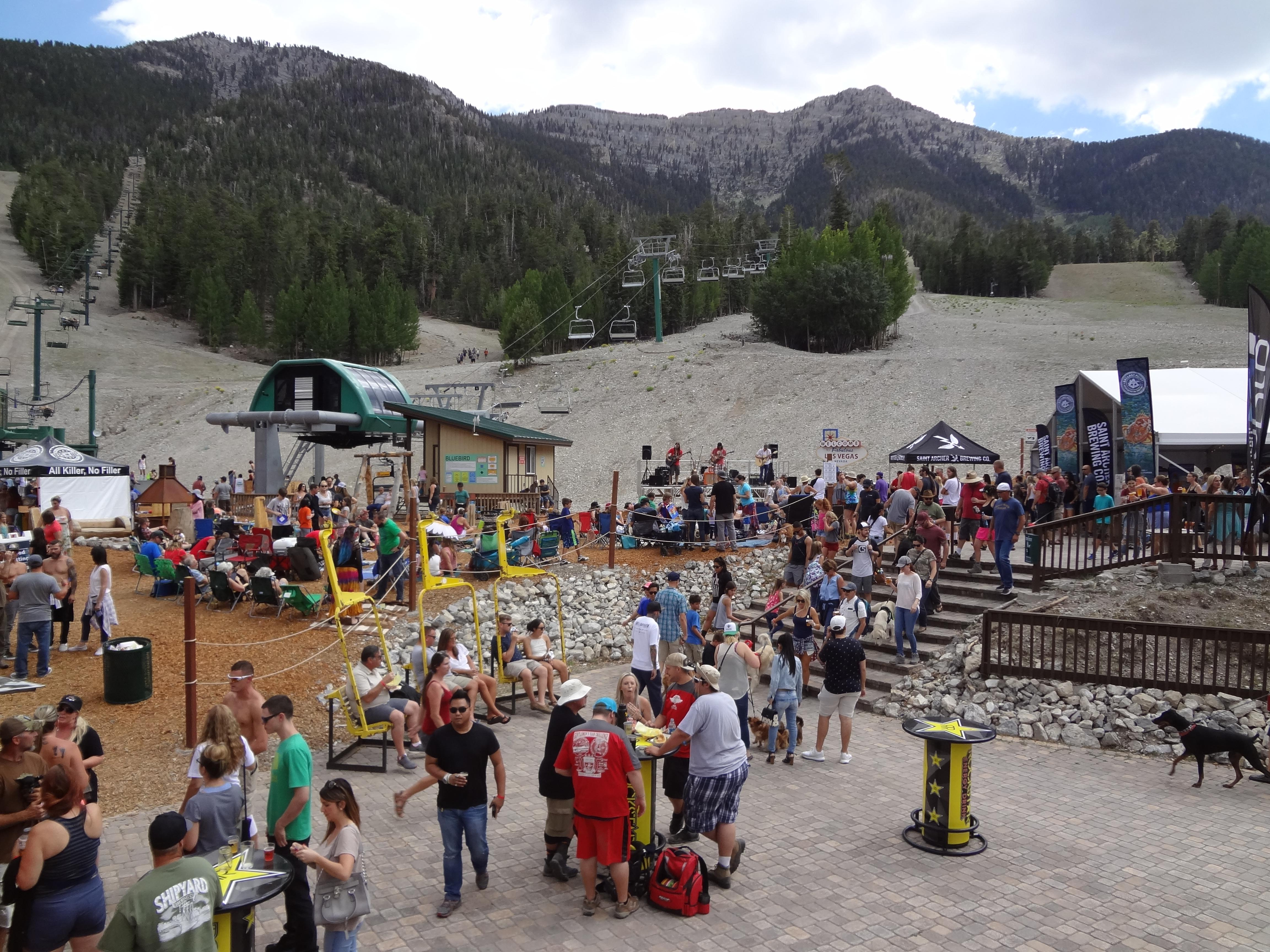 Mountain Fest, featuring the annual Birdies and Beers disc golf competition, takes place Saturday, July 22, 2017, at Lee Canyon. (Photo provided by Lee Canyon)