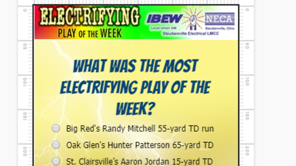 What was the most electrifying play of the week?