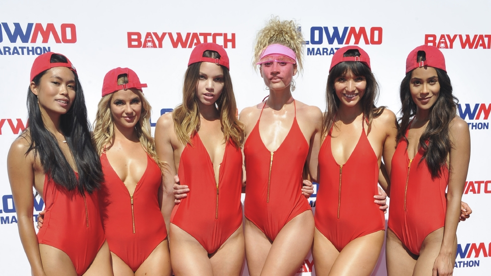 Pics: Baywatch SlowMo Marathon kicks off... slowly